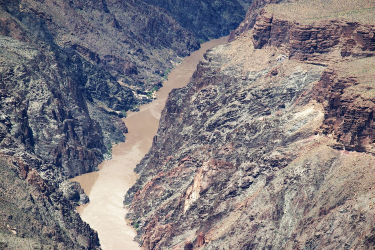 Colorado River in Grand Canyon Mountain Beauty In Nature Scenics - Nature Day Non-urban Scene Tranquil Scene No People Nature Rock Environment Outdoors Colorado River In Grand Canyon
