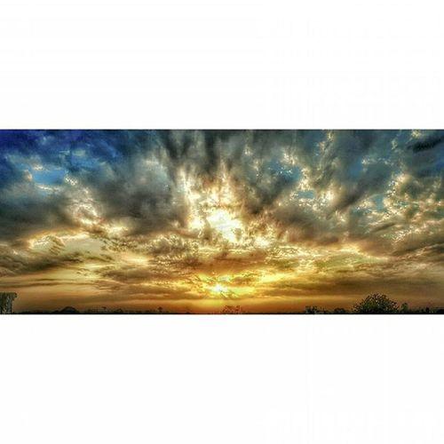 Sunet panorama... Sunset Sunsetvision Ig_myshot Panorama Sunsetclicks VSCO Vzco Instagram Artobjectiva AlishSphoto Sunsethub