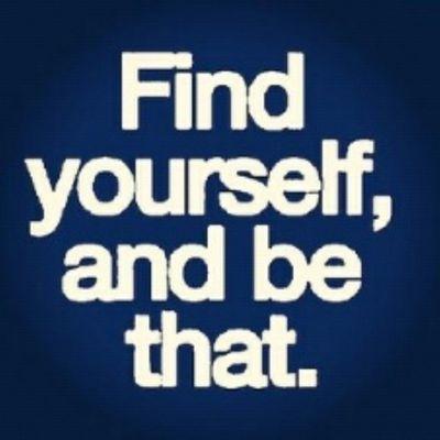 Se tu mismo ;)