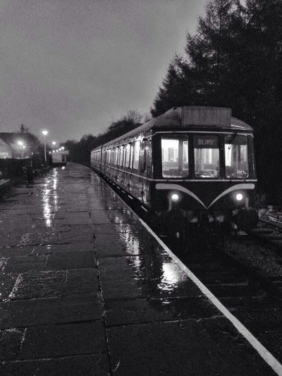 Trains in the rain! First Eyeem Photo