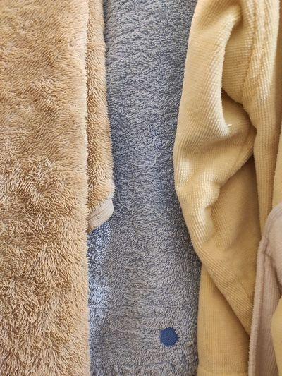 Full frame shot of towels