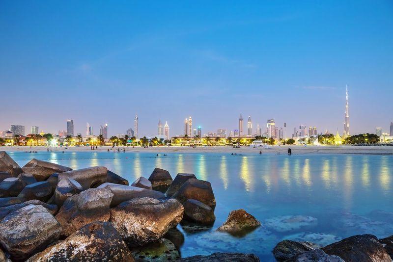 Jumeirah, Dubai Dubai Long Exposure Night Photography Canon Andy Arciga