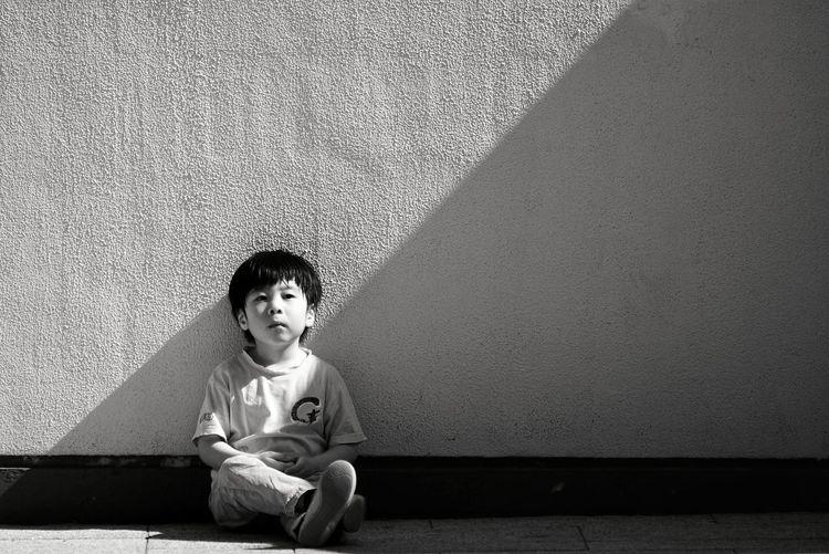 Sony Hong Kong Tim Wong Childhood Sitting Casual Clothing