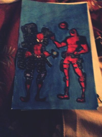 Adult Coloring Book Deadpool Art, Drawing, Creativity LongIslandNY Essentialtremorsawareness Blurred Motion Blurry Blurred
