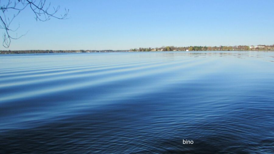 Out Early Around The Lake Bright Sunshine Very Blue Water Cool Waves Beauty In Nature Lake Cadillac Pure Michigan