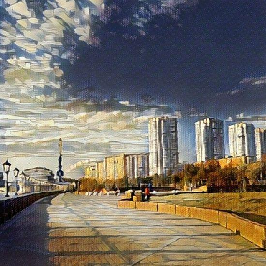 Moscow City Cityscape Prisma
