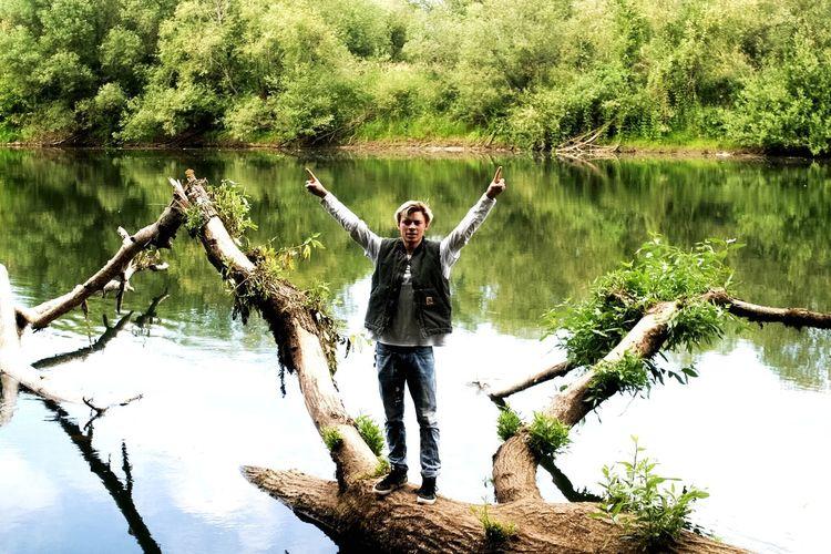 The Great Outdoors - 2015 EyeEm Awards Reflection River Oregon PNW