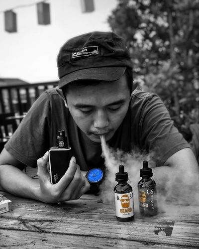 One Person People Day Headshot Childhood Adult One Boy Only Young Adult Blackandwhite Black And White Black & White Vapeporn Vape On Vapesociety Blackandwhite Photography Bnwsplash_kings Bnwsplash Bnwsplash_perfection Black And White Collection  Black And White Portrait