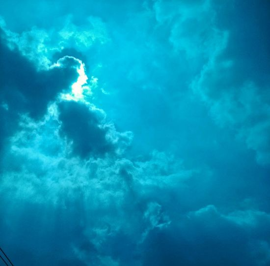 Sky Sky And Clouds EyeEmNewHere Blue Color Iseng☺ Outdoors