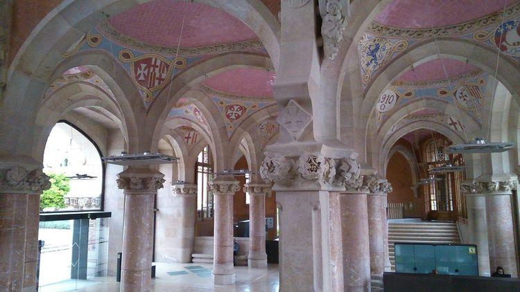Hospital de la Santa Creu i Sant Pau #barcelona #CATALUNYA #hospital Architecture Built Structure History