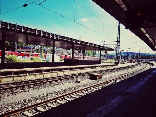 Saarbrucken Germany Train Station Traveling Train Europe Travel Summer Railway Eye4photography
