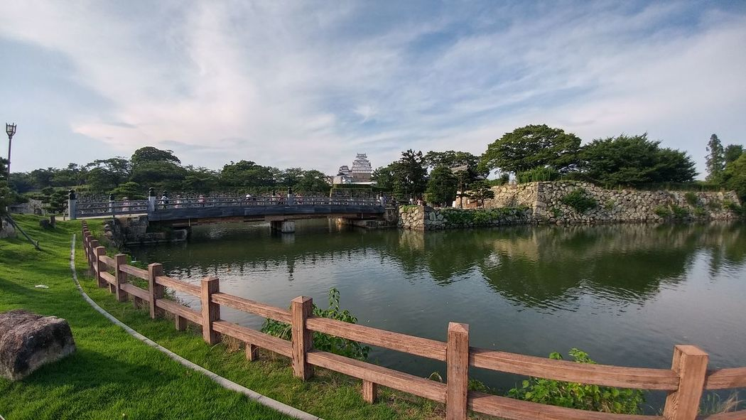 Nature Castle Landscape Lake Sky Outdoors Nature Vacations Val  LG  G5se Lgg5se Japan Japan Scenery