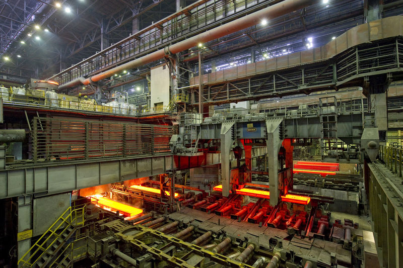 Interior Of Metal Industry