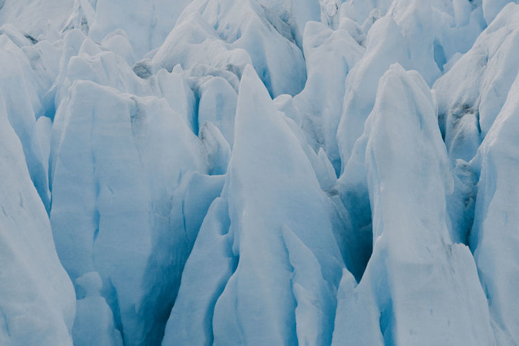 Full frame shot of perito moreno glacier