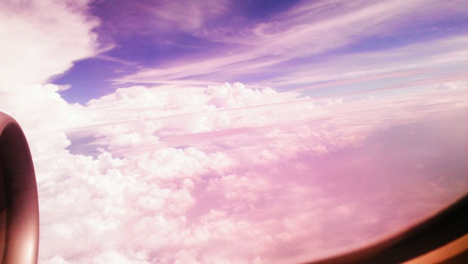 taken in 2011. From An Airplane Window Cloud And Sky Colors Fantasy