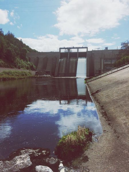 Inniscara Dam Water Reflection River Dam Hydroelectric Power Hydroelectric Power Plant Power Plant Summer