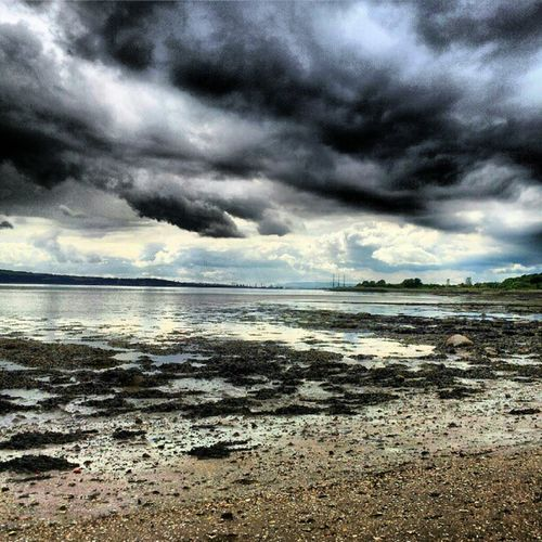 'Distant Thunder' Limekilns Fife  Scotland RiverForth Beach Seascape Scenery sand Cloudporn sky skyporn igscout igscotland igtube igaddict Igers igdaily Tagstagram most_deserving iphonesia instagood instamob instagrammers picoftheday bestoftheday Primeshots
