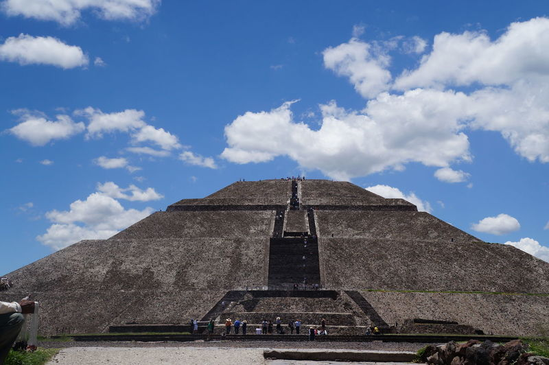 Pirámide del sol Travel Tourism History Pyramid Mexico Tehotihuacan