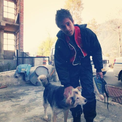 Look who I found in Manali Waaaay old photo ! Uploaded just cause a moron @_tree_hugger__ made me miss my pals ! :D Manali Streets Street_dog Street_Love Cold Cute Love Hungry Snow_fall December 2010 Soft Shaggy Dogs