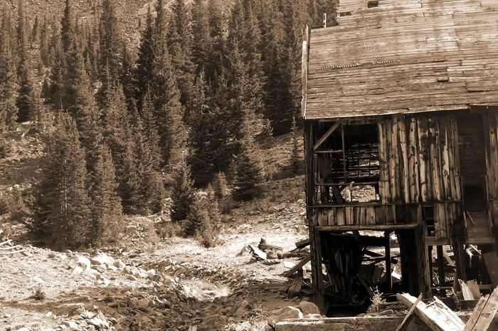 Built Structure Colorado Colorado Photography Mining Mining Heritage Ghosttowns Mining History Of America Decay Weathered Abandoned