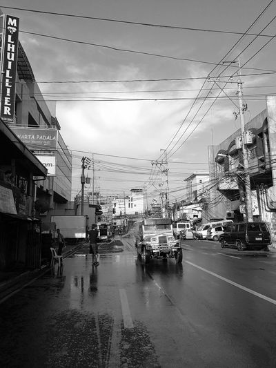 San Juan, MM | Wet Sky Water Telephone Line Day Jeepney Jeepneys Transportation Manila Philippines Philippine Transport System Philippine Transportation Culture Jeep Philippine Jeep Filipino Monserate Images