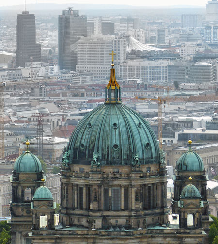 Architectural Feature Architecture Berlin Dome  Berlin Mitte Berliner Ansichten Berliner Dom Building Exterior Built Structure Cathedral Church Cross Culture Dome Famous Place Historic International Landmark Low Angle View Religion Spirituality The Architect - 2016 EyeEm Awards The Street Photographer - 2016 EyeEm Awards