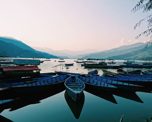 Pokhara transportation. Beautiful Beautiful Nature Beauty Culture Cultures Lake Lake View Lakes  Lakeshore Lakeside Lakeview Landscape Nepal Nepal #travel Nepali  Paradise Pokhara Transport Transportation Travel Traveling View