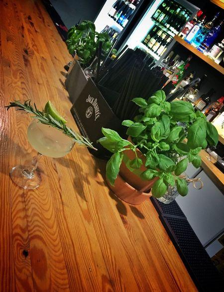 Leaf Freshness Market Basil Food No People Indoors  Day Cocktail Bar - Drink Establishment Bar Counter Alcohol