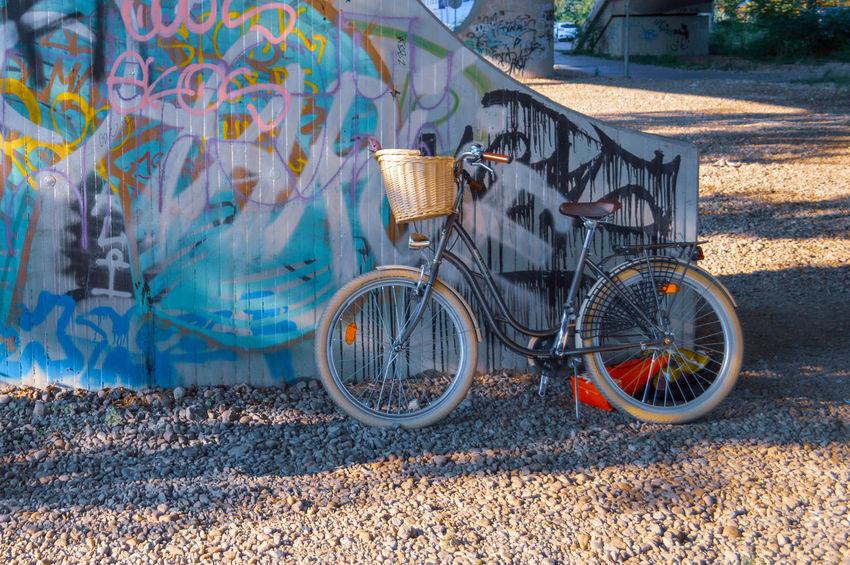 Bike Lifestyles Urbanphotography Urban Scene Street Graffiti Mode Of Transport Bicycle Stationary Land Vehicle Architecture Building Exterior Built Structure Bicycle Rack Parking Graffiti Street Art Vandalism Mural Bicycle Basket Spray Paint Wall - Building Feature #urbanana: The Urban Playground