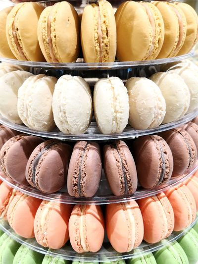 Macarons in Paris, France Sweets Dessert Macarons EyeEm Selects Store Multi Colored Retail  Arrangement Variation Choice Shelf In A Row Egg Carton Close-up Shop Market Stall Macaroon Window Display Store Window Display For Sale Retail Display Market Pastry Farmer Market