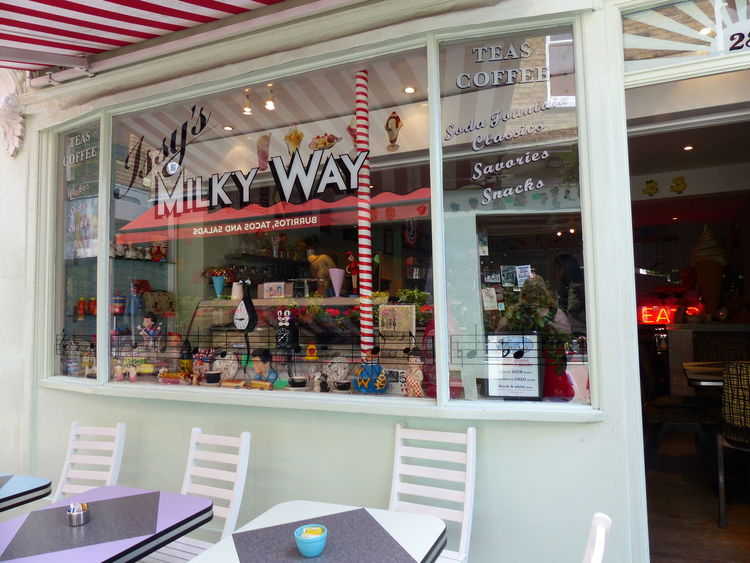 Indoors  Store Retail  No People Architecture Day 70's Style Issy's Milky Way Best Milkshake Best Shop Ever Great Britain London Street Sweet Food Business People