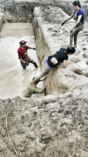 Showcase March Tough Mudder Run Water Helpingeachother Helping Extreme Sports Obstacles Adventure Club