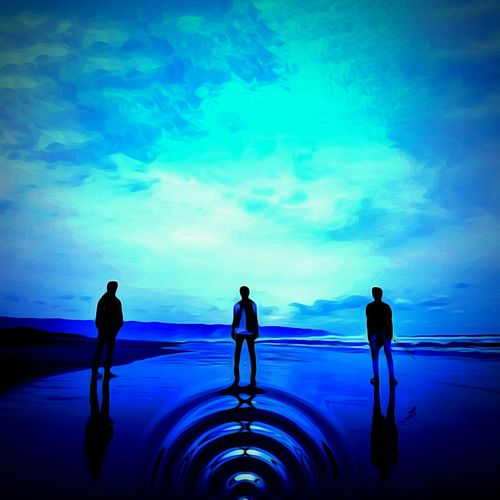 Water Silhouette Sea Horizon Over Water Full Length Inspiration Business Standing Adults Only Togetherness People Outdoors Challenge Adult Innovation Teamwork Only Men Men Sky EyeEm Master Class Streetphotography Pursuit Of Happiness Nature Fragility Recreational Pursuit