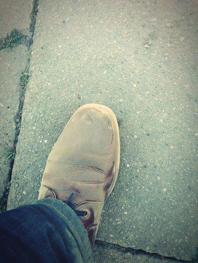 Die Schuhe haben auf jeden Fall gelitten :-) ZooLeipzig