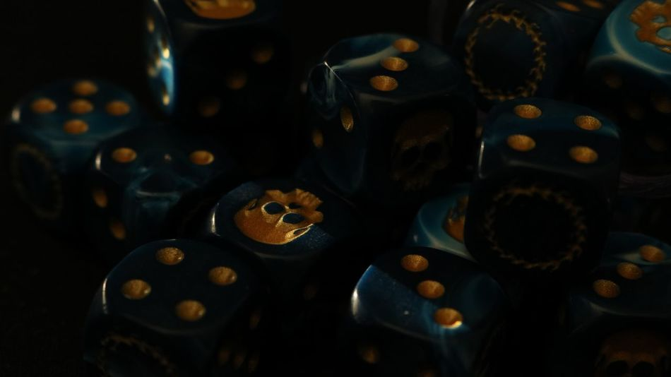 Games Blue Dice Large Group Of Objects