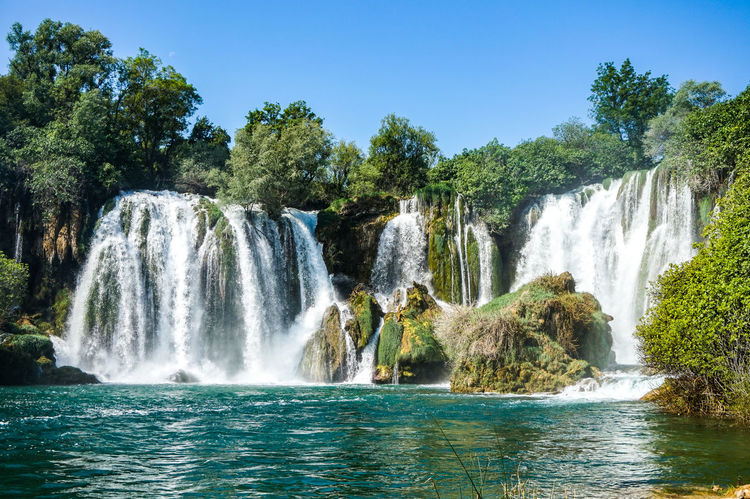 Nature Travel Traveling Beauty Beauty In Nature Beauty In Nature Day Falling Water Flowing Flowing Water Kravica, Bosnia & Herzegovina Kravice Long Exposure Nature No People Outdoors Power In Nature Scenics - Nature Sky Tourism Travel Travel Destinations Tree Water Waterfall