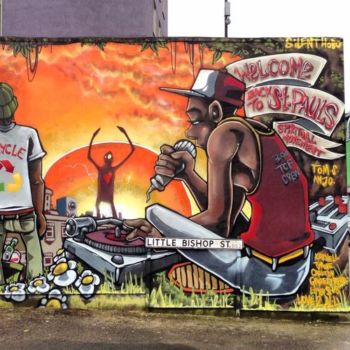 Graffiti Streetart Urban Silenthobo