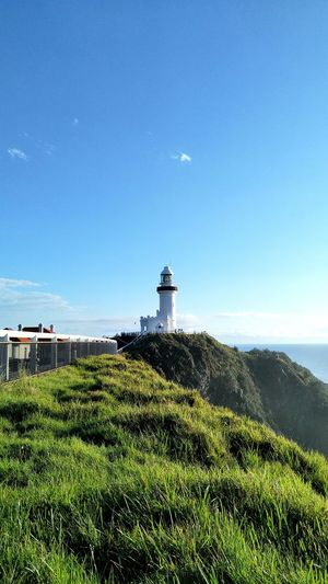 Lighthouse Clear Sky