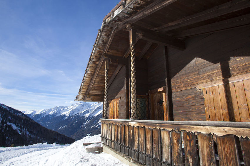Architecture Austria Austria Mountains Austria ❤ Austrian Alps Austrianphotographers Beauty In Nature Cold Temperature Day Hut Landscape Mountain Nature No People Outdoors Scenics Sky Snow Staller Sattel Travel Destinations Winter Wood - Material