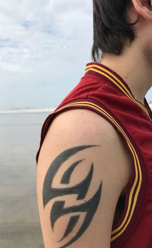 Tatto Tekken One Person Lifestyles Real People Leisure Activity Day This Is My Skin Tattoo Young Adult Human Body Part