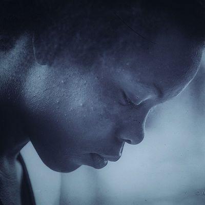 Ig_grenada Insta_noir Blancoynegro Blackandwhite All_shots Teamnikon Naturalkids 4chairchicks Naturalhair African Women Blackwomen Portraiture Portrait_shots Andyjohnsonphotography Thetopfaces Dimples  Snapseed Bokeh