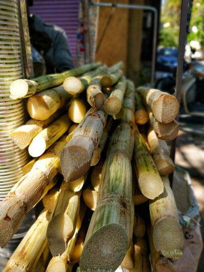 sugarcane #portrait #day #Morning #streetphotography #vendor Market Retail  Outdoors Food Close-up Freshness No People