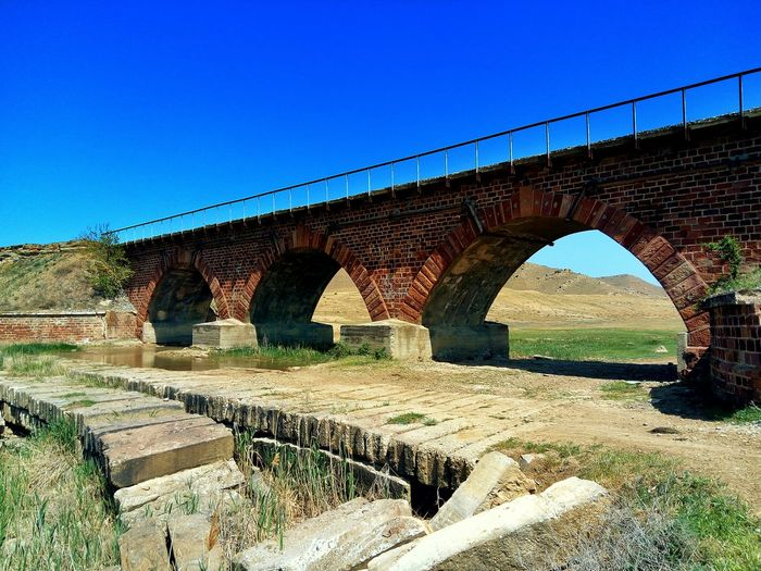 Bridge - Man Made Structure Arch Connection Architecture Built Structure Day Clear Sky Sunlight No People Sky Outdoors Nature Beauty In Nature Dagestan LeTv X600 LeEco