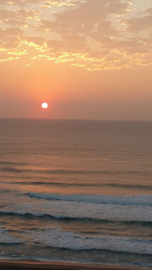 Waves, Ocean, Nature Sunrise