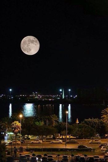 Benghazi Nice View Night Lights Hello World ?❤️