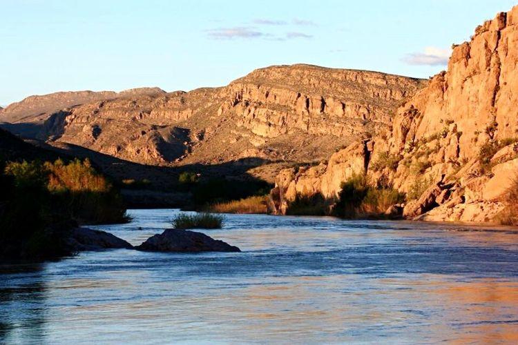 Big Bend National Park Río Grande Desert Desert Beauty River Mountains Texas Feel The Journey