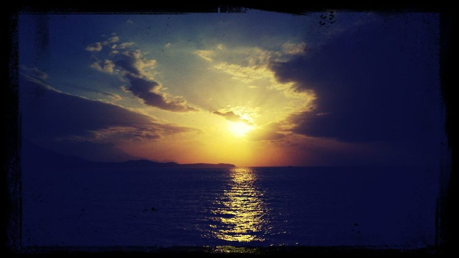 Sunset in Mindoro. :)