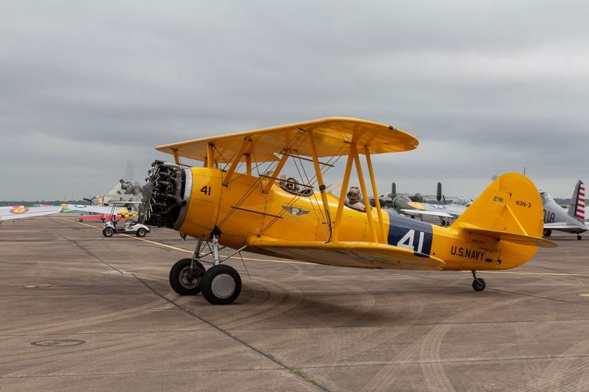 Wings Over Houston Airshow Canon EOS 60D Transportation Mode Of Transportation Sky Cloud - Sky Land Beach Yellow