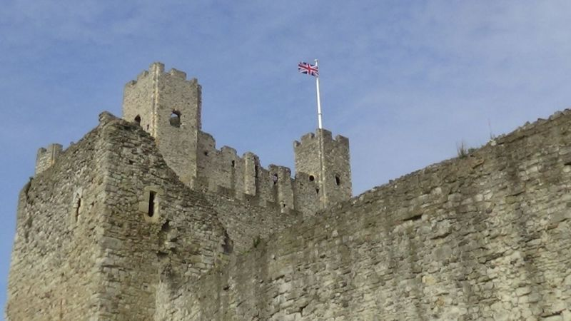 Here is a Photo Shot of Rochester Castle which is a castle that is located in Kent, United Kingdom. This Photo was taken in April 2017. Castles England, UK Great Britain Travel Photography United Kingdom Ancient Architecture Building Exterior Built Structure Castle Day Flag Fort History Kent England Low Angle View No People Outdoors Rochester Castle Sky Tourist Attractions Travel And Leisure Travel And Tourism Travel Destination Travel Destinations