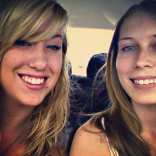 This is my bffn ?????Loveher Incar Driving Bffn blonde cute
